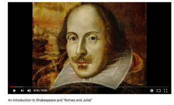Introduction to Romeo and Juliet with Video Clip