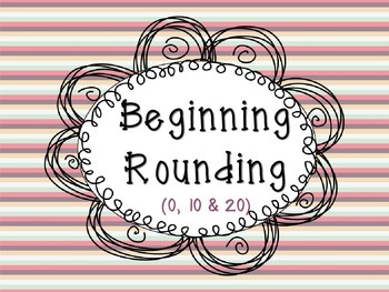 Introduction to Rounding (Numbers 0-20) Math Center {CC Aligned}