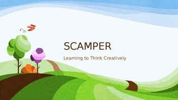 Introduction to SCAMPER PowerPoint for Gifted GATE Classes