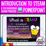 Introduction to STEAM and the Engineering Design Process P