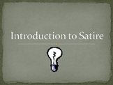 Introduction to Satire PowerPoint