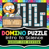 Intro to Science Domino Puzzle - Back to School Science Activity