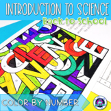 Back to School Science: Introduction to Science Color-by-Number