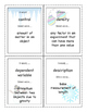 Introduction to Science I Have/Who Has vocabulary game - C