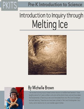 PreK Introduction to Science: Melting Ice Activity
