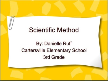 Introduction to Science Packet