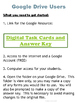 Introduction to Science Exit Ticket or Warm Up Assessment Task Card Set