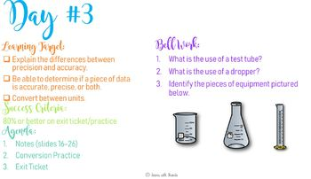 Introduction to Science Unit