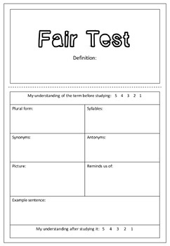 Introduction to Science | WORD WALL LITERARY TERMS For the Secondary Classroom