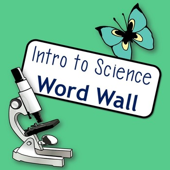 Introduction to Science Word Wall Cards