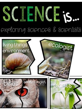 Introduction to Science and Scientists Puzzles