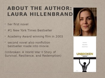 Introduction to Seabiscuit: An American Legend by Laura Hillenbrand Powerpoint