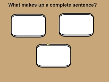 Introduction to Sentence Writing | Using Capital Letters
