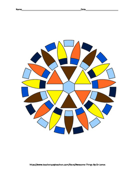 Introduction to Sequences Color by Number