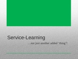 Introduction to Service-Learning PowerPoint