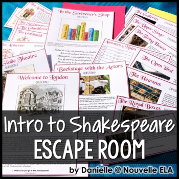 Introduction to Shakespeare Escape Room and Digital Breakout