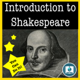 Short Introduction to Shakespeare: Fun Activities and Student Lead Learning