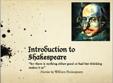 Introduction to Shakespeare Lesson Bundle