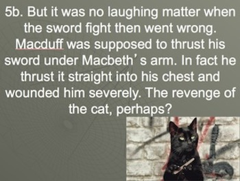 Introduction to Shakespeare, Macbeth and the Macbeth Curse