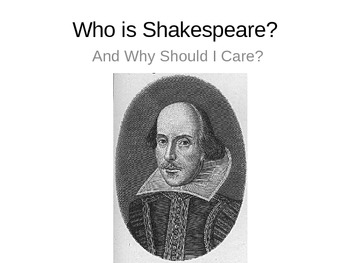 Introduction to Shakespeare and Elizabethan England