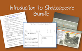 Introduction to Shakespeare bundle
