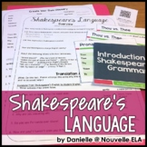 Introduction to Shakespeare's Language Webquest for Intera