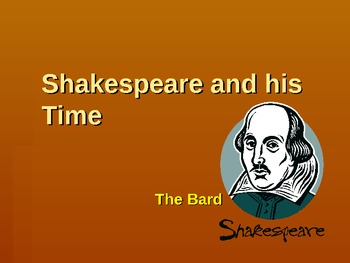 Introduction to Shakespearean Drama PowerPoint Bundle