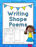 Writing Shape Poems