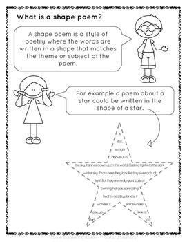 Writing Shape Poems