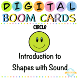 Introduction to Shapes with Sound - Boom Card™ Distance Learning