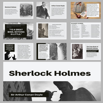 Introduction to Sherlock Holmes Presentation for PowerPoint