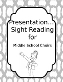 Introduction to Sight Reading for Middle School Choir