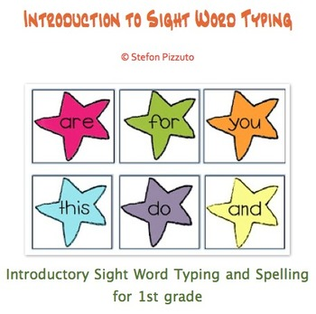 Introduction to Sight Word Typing for 1st Grade