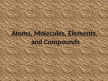 Introduction to Simple Compounds slideshow