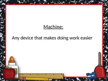 Introduction to Simple and Complex Machines