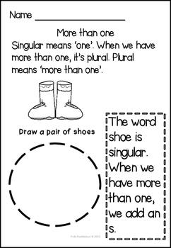 Singular versus Plural