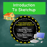 Introduction to Sketchup - Tutorial and Creative Design Lesson
