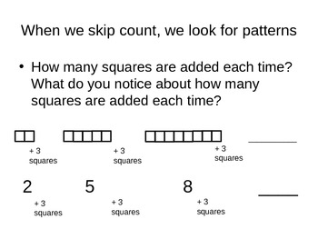 Introduction to Skip Counting 2