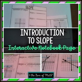 Introduction to Slope: Foldable Page