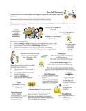 Social Groups Overview