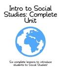 Introduction to Social Studies Complete Unit