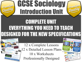 Introduction to Sociology (12 Lesson Unit)
