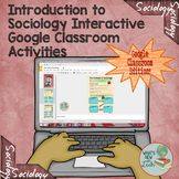 Introduction to Sociology Activities for Google and OneDri