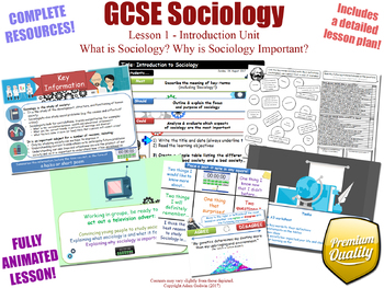 Introduction to Sociology - Introduction Unit - L1/12 - GCSE Sociology (KS4)