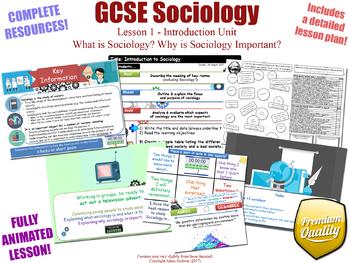 Introduction to Sociology - Introduction Unit - L1/12 - GCSE Sociology (KS4)