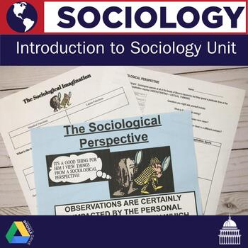 Introduction to Sociology Unit | Sociology Lessons