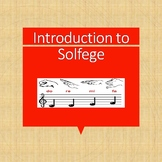 Introduction to Solfege for grades 7-12