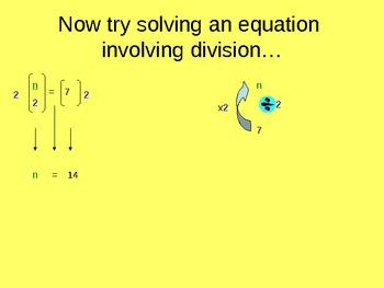 8.EE.C.7 Introduction to Solving One-Step Multiplication & Division Equations