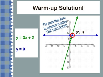 Introduction to Solving Systems of Linear Equations- 3 Tiers