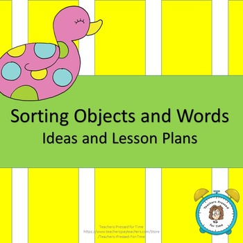 Introduction to Sorting Lesson Plans
